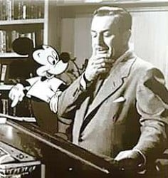 Walt Disney y Mickey Mouse