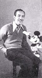 mickey mouse y walt disney