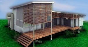 construcción de casas sustentables