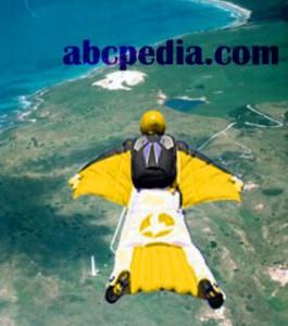 imagen de un paracaidista