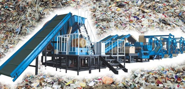 máquinas de reciclaje