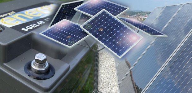 acumuladores de energía solar