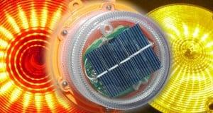balizas solares