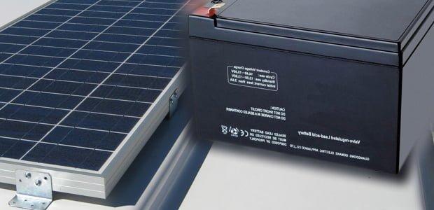 baterías de energía solar