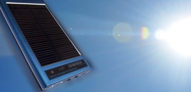 cargador solar portátil