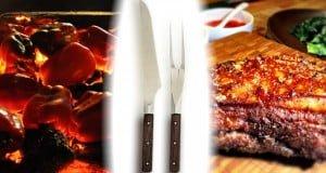 cuchillos para asado