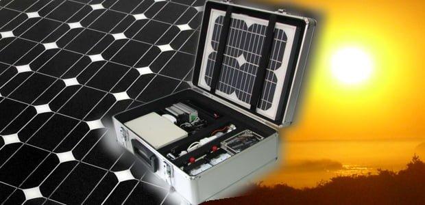 kit de energía solar fotovoltaica
