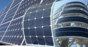 panel solar flexible