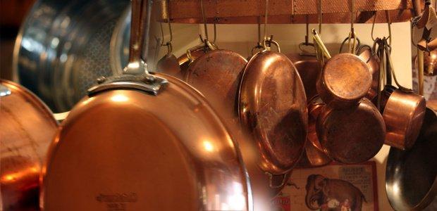 sartenes de cobre