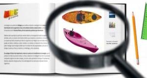 variedad de kayaks
