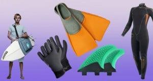 accesorios para deportes extremos de mar