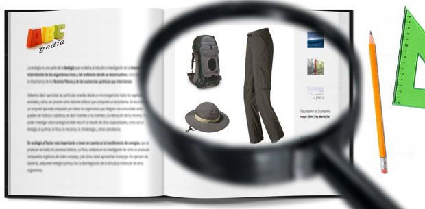 capas de la ropa de trekking