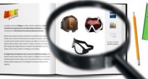 gafas de snowboard para evitar lesiones oculares