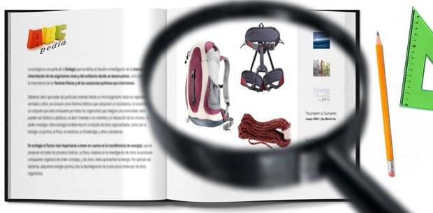 material de trekking para evitar accidentes