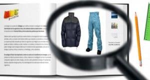 materiales de confección de la indumentaria de snowboard