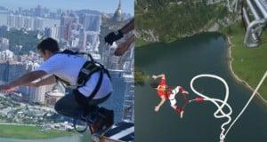 los 3 mejores lugares para practicar bungee jumping