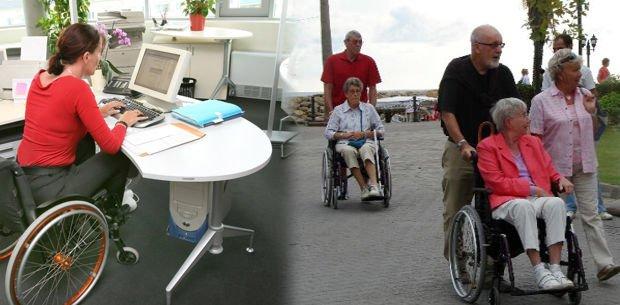 un dispositivo que permite a cuatro personas paralíticas mover sus piernas