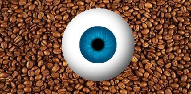 el café es bueno para la vista