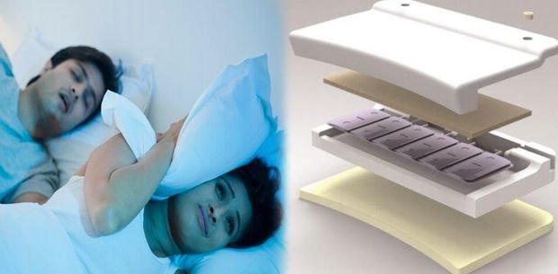 almohada antirronquidos