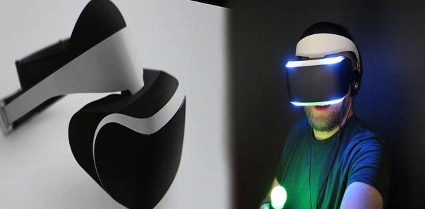 el casco de realidad virtual de Sony