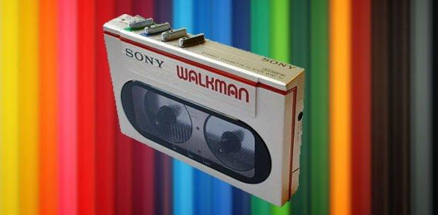 el Walkman cumple 35 años