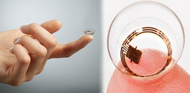 lentes de contacto inteligentes