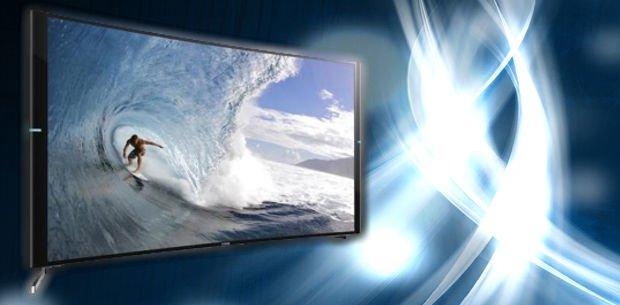 Sony anuncia su primer televisor curvo 4K