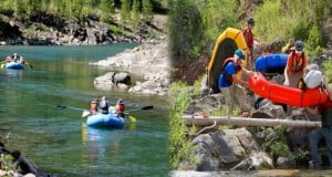 5 lugares para practicar rafting de montaña