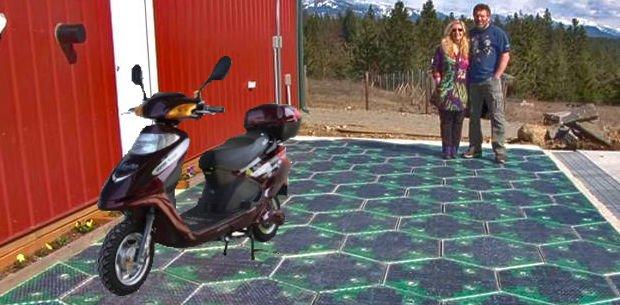 autopista del futuro solar
