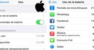 ahorrar batería en iPhone y iPad con iOS8