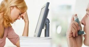asma por estrés