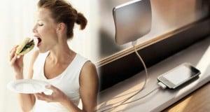 cargar el celular en el dormitorio engorda