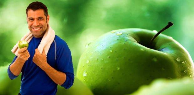 comer una manzana al día previene la obesidad
