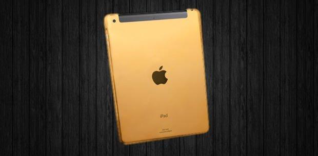 nuevo iPad dorado