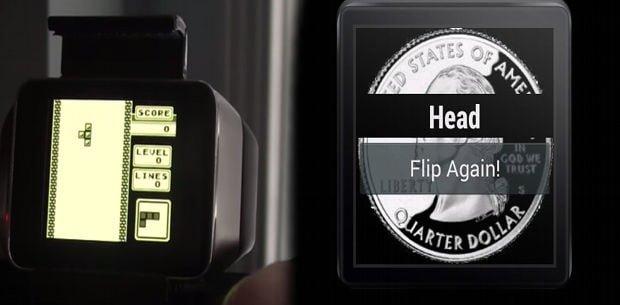 juegos para relojes Android Wear