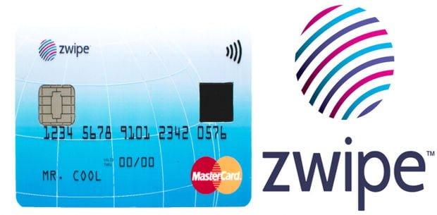 tarjeta de crédito con lector de huellas digitales