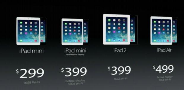 Apple presentó sus nuevos iPads