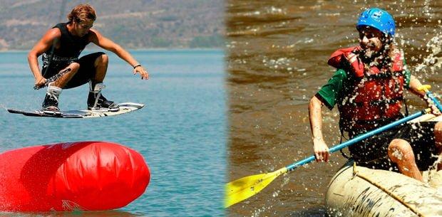 tipos de accesorios para deportes extremos de río
