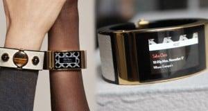 la pulsera inteligente de lujo de Intel