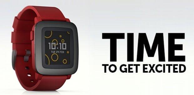 Pebble presentó Time