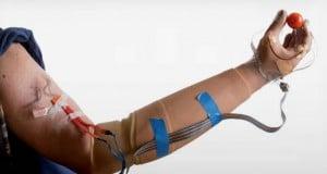 prótesis con sentido del tacto