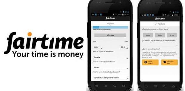 una aplicación para vender el tiempo