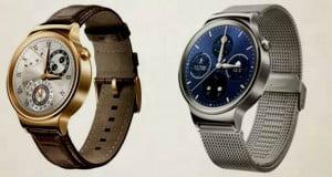 Huawei presenta un smartwatch de metal