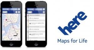 los mapas de Nokia vuelven a iPhone