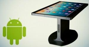 mesa ratona con Android
