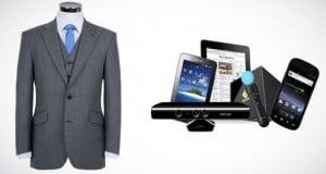 un traje inteligente para recargar dispositivos