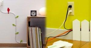 consejos para ocultar cables eléctricos