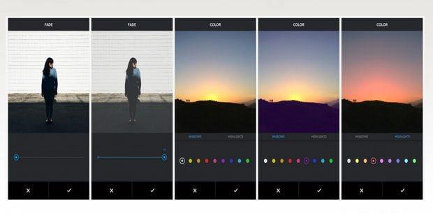 Las dos nuevas herramientas de Instagram para mejorar el color de las fotos