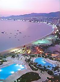 hoteles sobre la playa