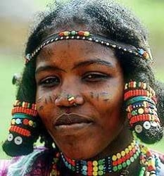 cicatrices ornamentales en indígenas